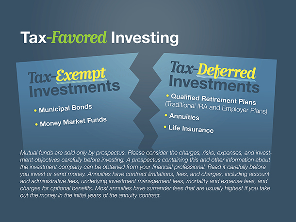 Tax-Favored Investing