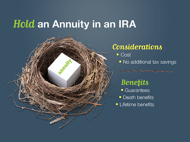 Hold an Annuity in an IRA