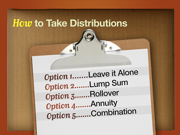 How to Take Distribution